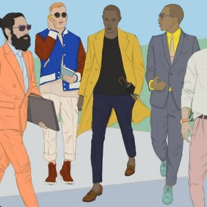 Men and Fashion: The History